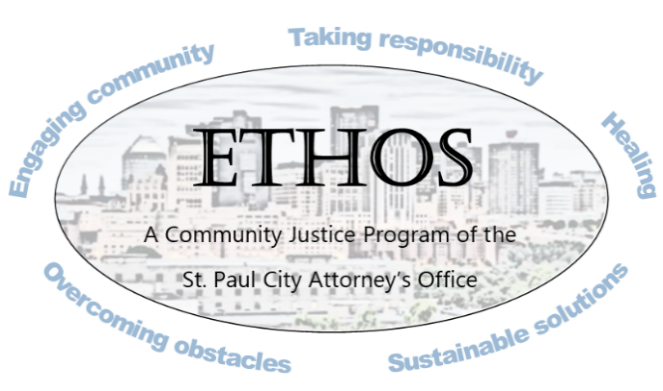 ETHOS (Engaging community, Taking responsibility, Healing, Overcoming obstacles, Sustainable solutions)