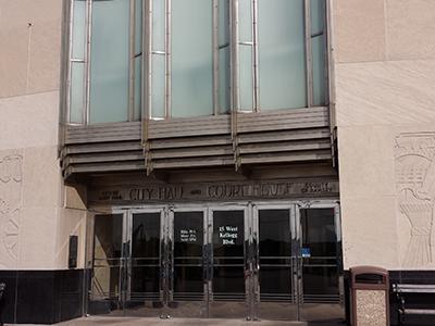 kellog entrance city hall