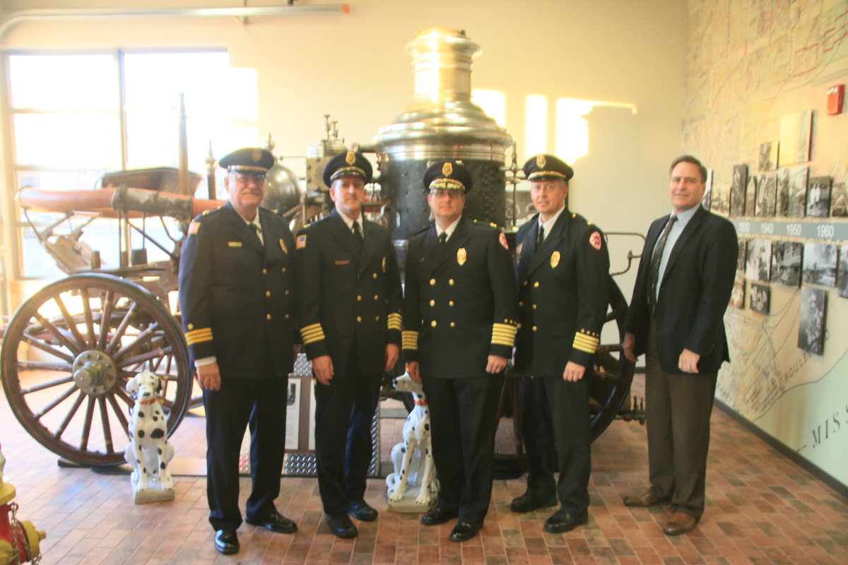 Saint Paul Fire Department Senior Leadership Team