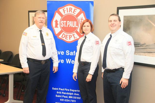 Saint Paul Fire Department Prevention Staff