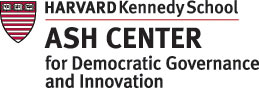 Logo - HARVARD Kennedy School ASH CENTER for Democratic Governance and Innovation
