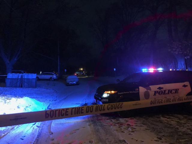 Homicide Scene from December 23, 2018