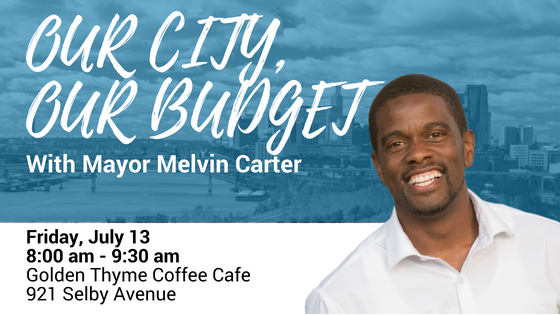 Our City, Our Budget Event - Golden Thyme