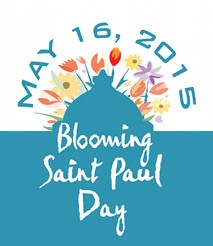 Graphic for Blooming Saint Paul Day - May 16th, 2015