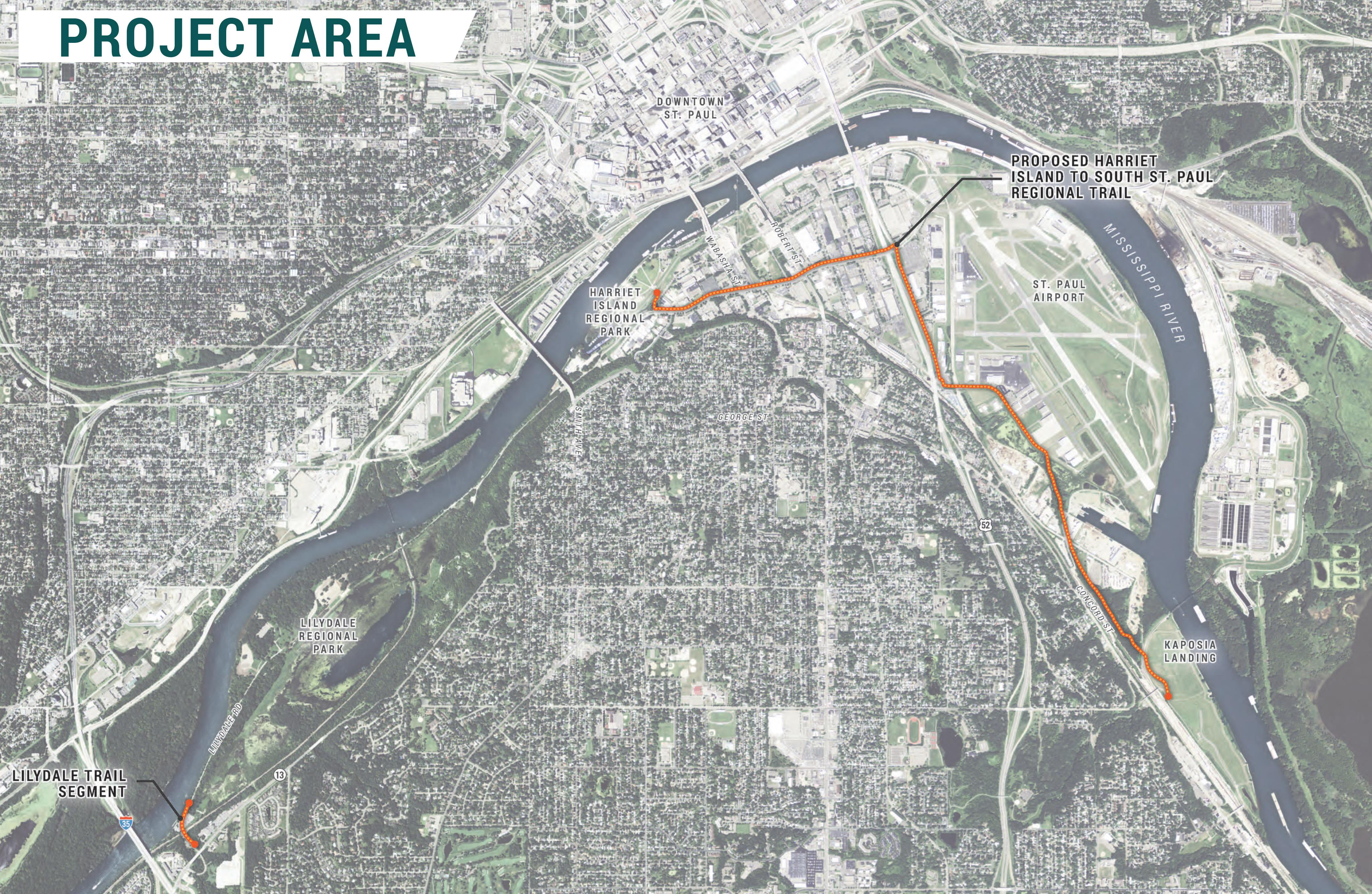 Robert Piram Regional Trail Saint Paul Minnesota
