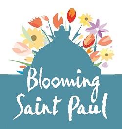 Blooming Saint Paul logo