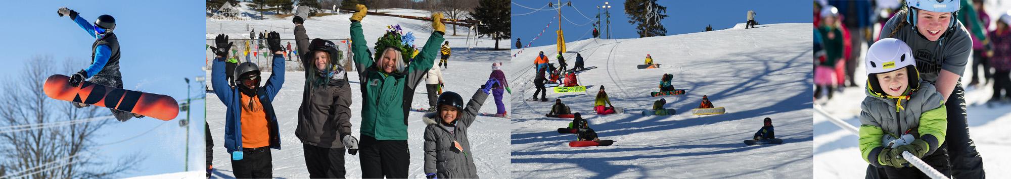 Como Park Ski Center Banner.