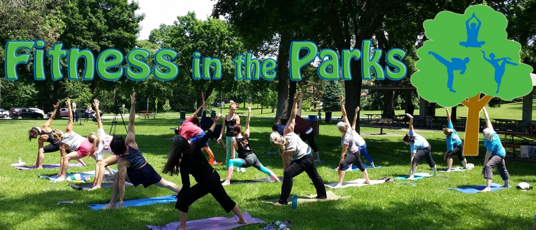 Fitness in the Parks Banner