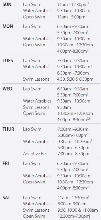 Great River Water Park Hours