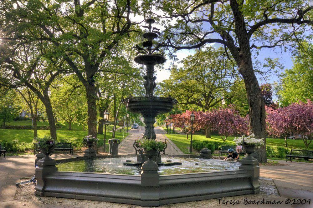 Irvine Park Fountain