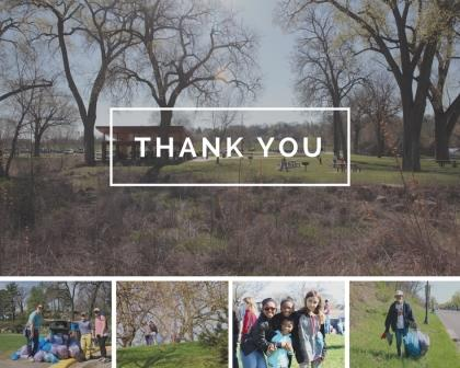 Thank you to all those that volunteered at the Citywide Spring Cleanup