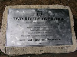 Two Rivers Overlook Sculptures