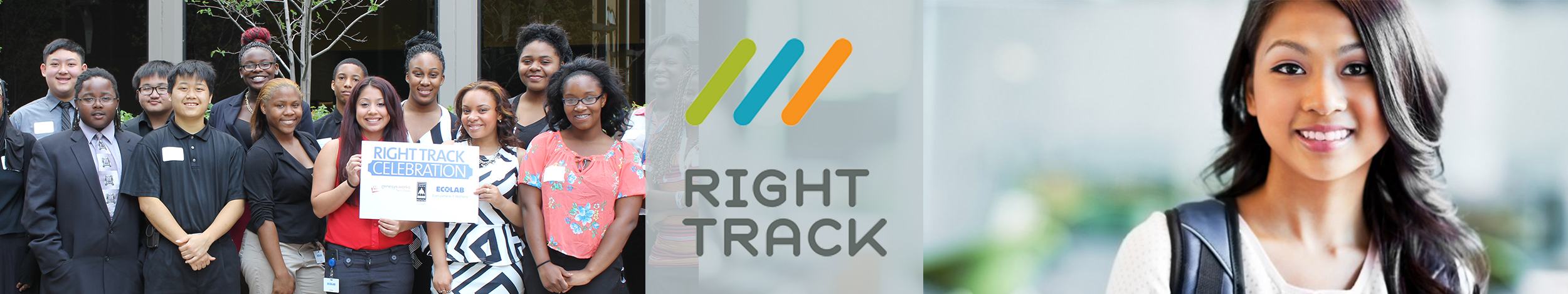 right track banner