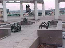 chapel site sculpture