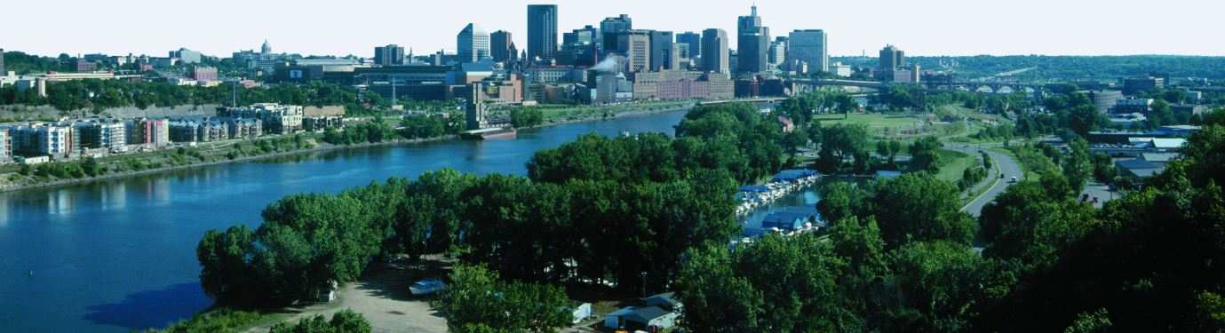 city of saint paul skyline