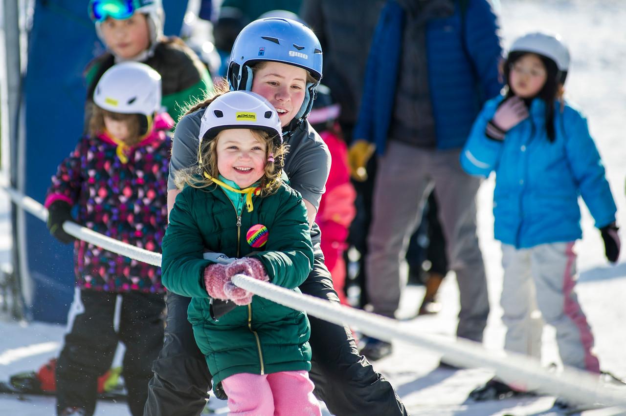 Como Park Ski Center Lessons towrope