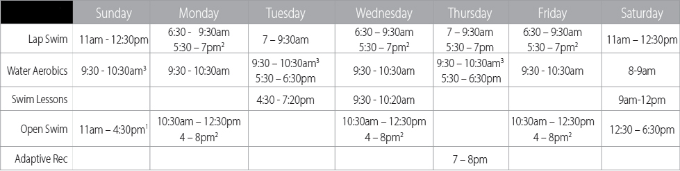 Parks Great River Water Park Hours Fall 2017