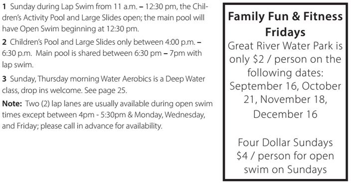 great river water park discount days
