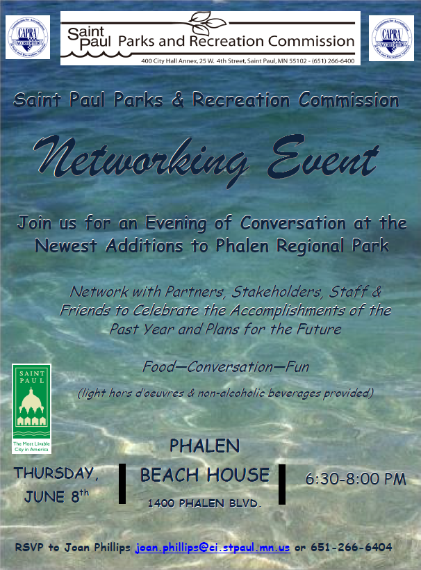 parks networking event