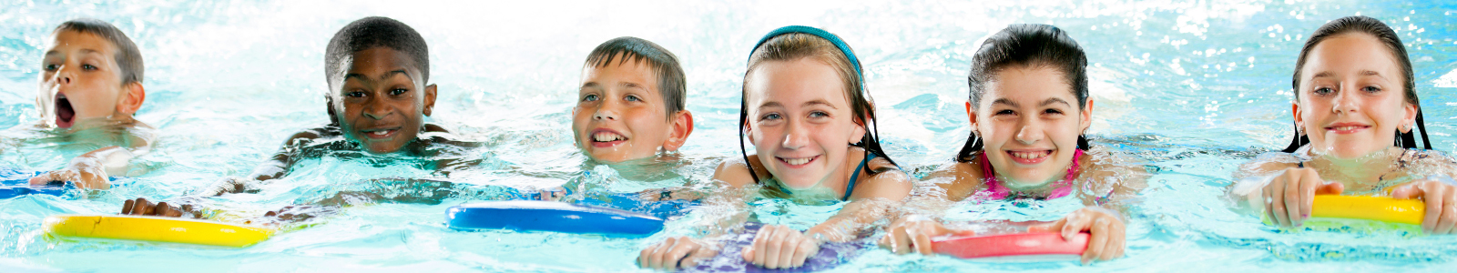 Picture of children at a swimming lesson
