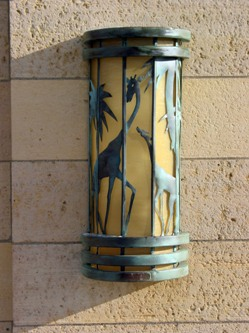 Lamp on Zoological Building