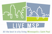 Live MSP logo - All the best in city living, Minneapolis - Saint Paul