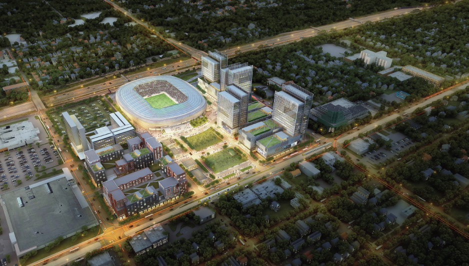 Snelling-Midway redevelopment rendering