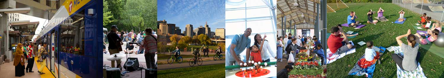 Vibrant Places and Spaces in Saint Paul