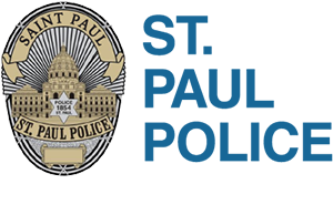 Saint Paul Police trusted service with respect logo