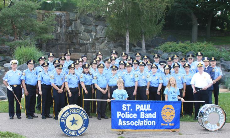 Saint Paul Police Band at 2011 Awards Ceremony