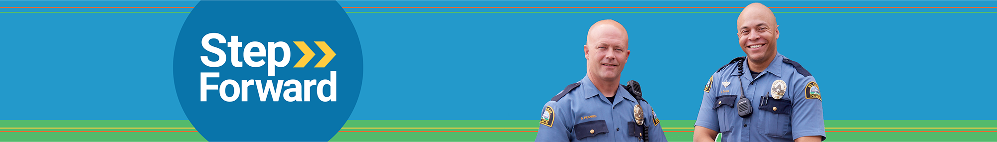 entry officer police banner