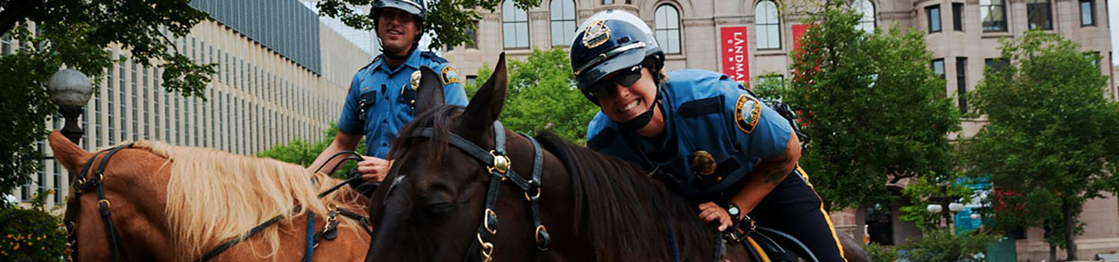 Saint Paul Police Mounted Patrol