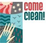 Come Clean! logo
