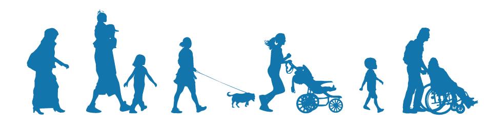 Walkers Walking