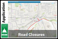 Graphic of the Road Closure map