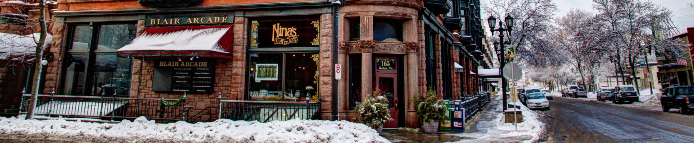 Nina's coffee house in Saint Paul