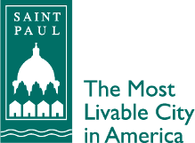 City of Saint Paul logo (green with tagline)