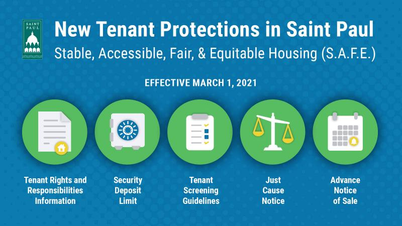 New Tenant Protections in Saint Paul (decorative image)