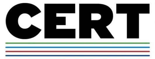 CERT 2018 Logo