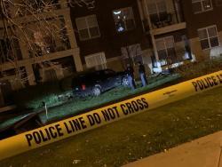 Homicide Scene from Friday, November 1, 2019