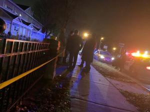 Homicide Scene from Saturday, November 2, 2019