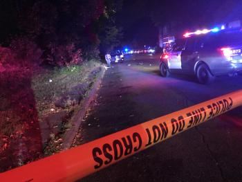 A man was shot and killed on the 1000 block of Hudson Road