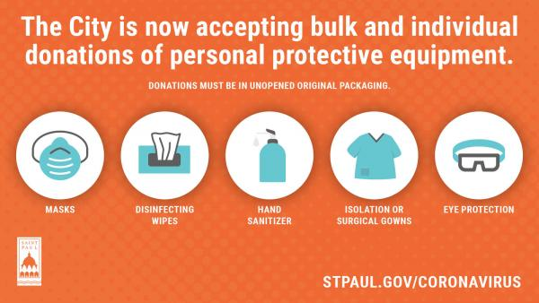Personal Protective Equipment Donations Now Accepted