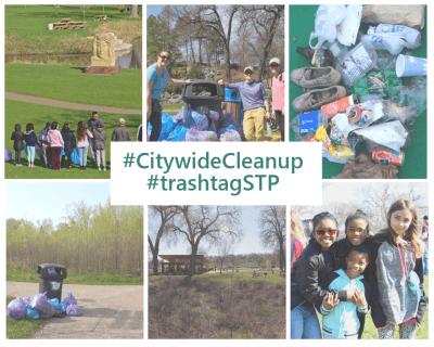 #trashtagSTP Citywide Spring Cleanup