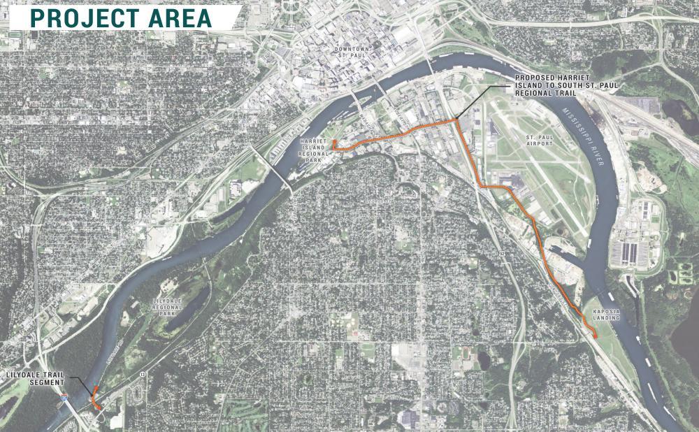 Trail Map - Robert Piram Regional Trail