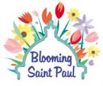 Blooming Saint Paul logo