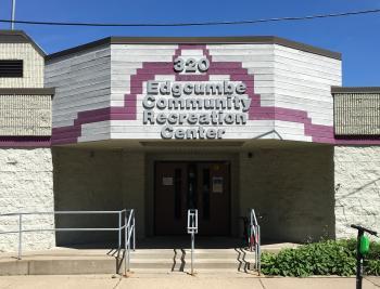 Edgcumbe Recreation Center entrance