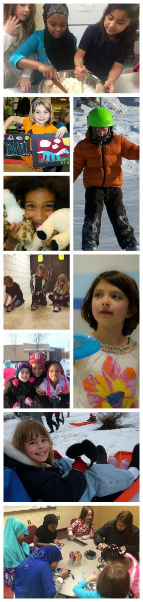 WinterTime Activity Collage