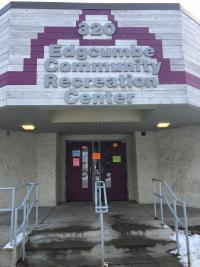 Edgcumbe Recreation Center entrance