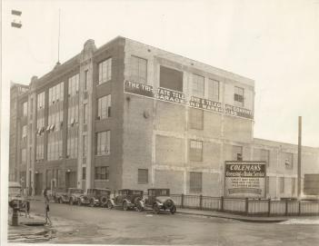 historic photo of the Public Safety Annex building in downtown Saint Paul